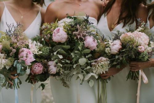 Bridesmaids Florals - Photo Esme Ducker Photography